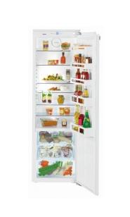 Įmontuojami šaldytuvai be šaldiklio kameros
